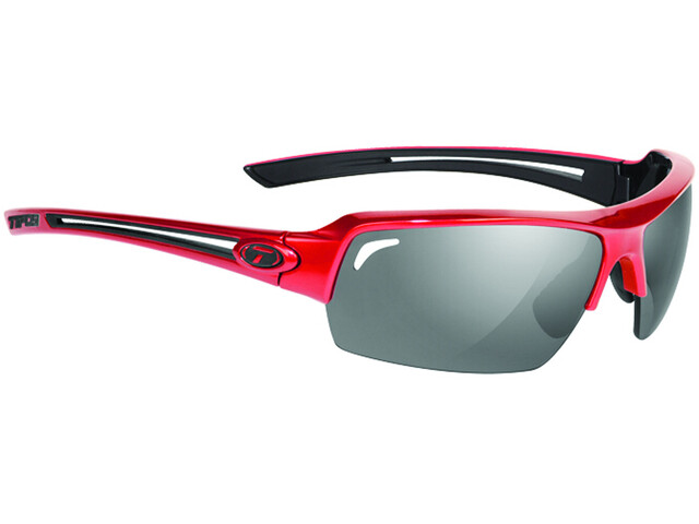 Tifosi Just Glasses metallic red - smoke polarized